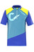 Cube AM Trikot kurzarm Herren blue'n'grey'n'lime